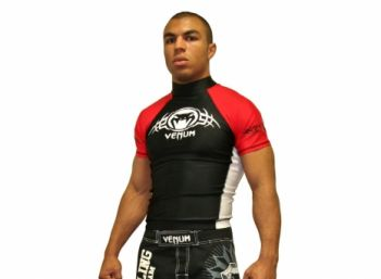 Venum Rush Guard Short Sleeve